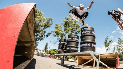 BURLEIGH KEG JUMP | VIDEO